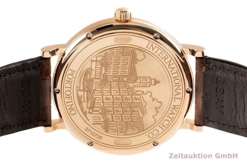gebrauchte Luxusuhr IWC Portofino 18k Gold Automatik Kal. 35110 Ref. IW356504, 3565  | 2101406 _1