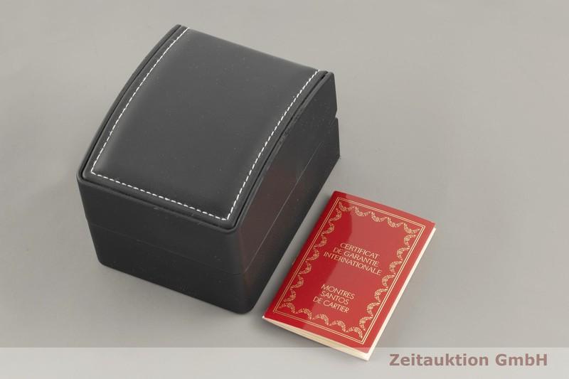 gebrauchte Luxusuhr Cartier Santos Stahl / Gold Quarz Kal. 157 Ref. 1567  | 2101407 _0