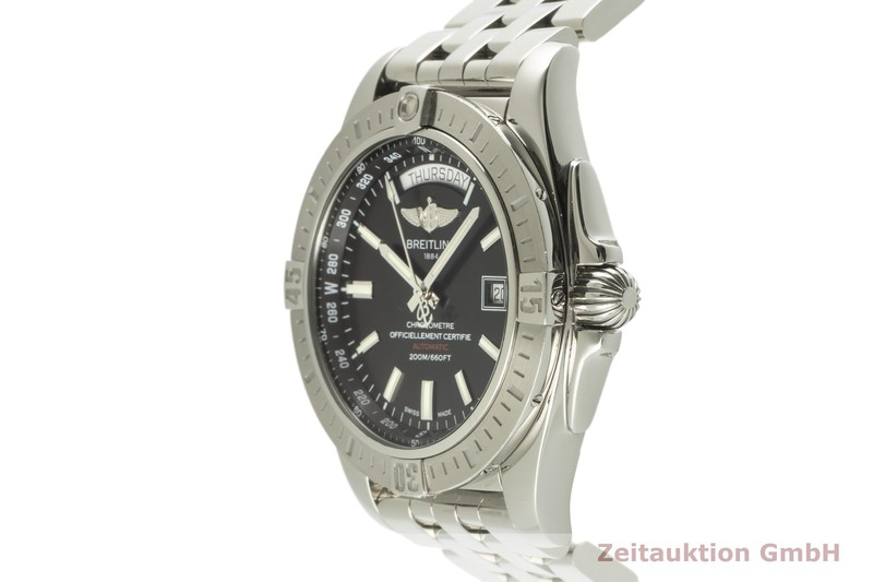 gebrauchte Luxusuhr Breitling Galactic Stahl Automatik Kal. B45 Ref. A45320 LIMITED EDITION   2101411 _0