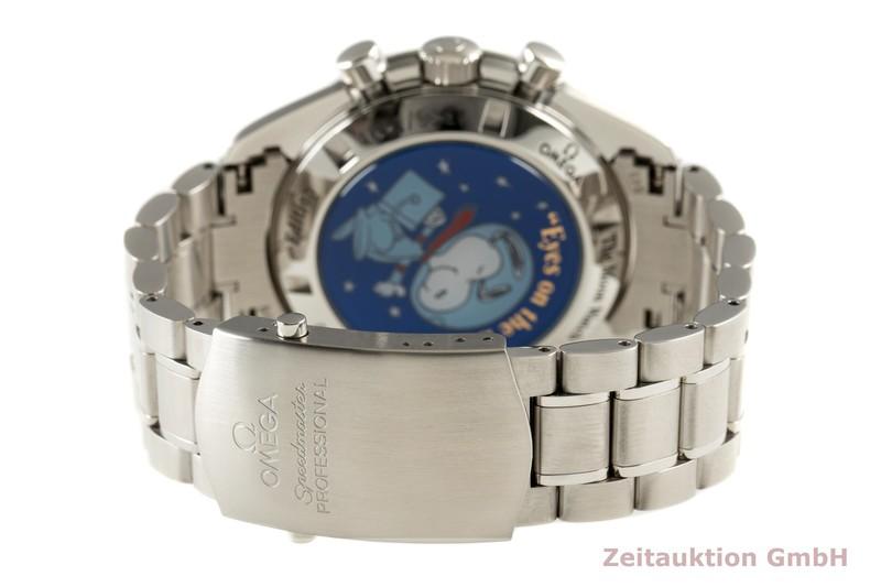 gebrauchte Luxusuhr Omega Speedmaster Moonwatch Chronograph Stahl Handaufzug Kal. 1861 Ref. 145.0031 LIMITED EDITION   2101423 _1