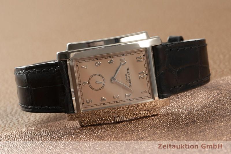 gebrauchte Luxusuhr Patek Philippe Gondolo 18k Weissgold Handaufzug Kal. 215 Ref. 5024  | 2101429 _0