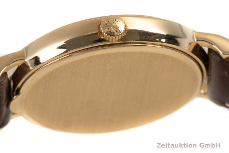 gebrauchte Luxusuhr Patek Philippe Calatrava 18k Gold Quarz Kal. E15 Ref. 4819  | 2101430 _1