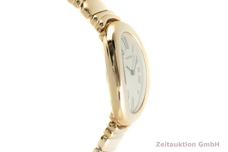 gebrauchte Luxusuhr Cartier Baignoire 18k Gold Quarz Kal. 057.06 Ref. 1954    2101433 _0