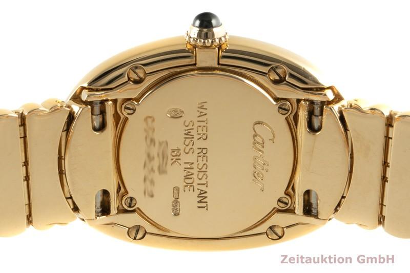 gebrauchte Luxusuhr Cartier Baignoire 18k Gold Quarz Kal. 057.06 Ref. 1954    2101433 _1