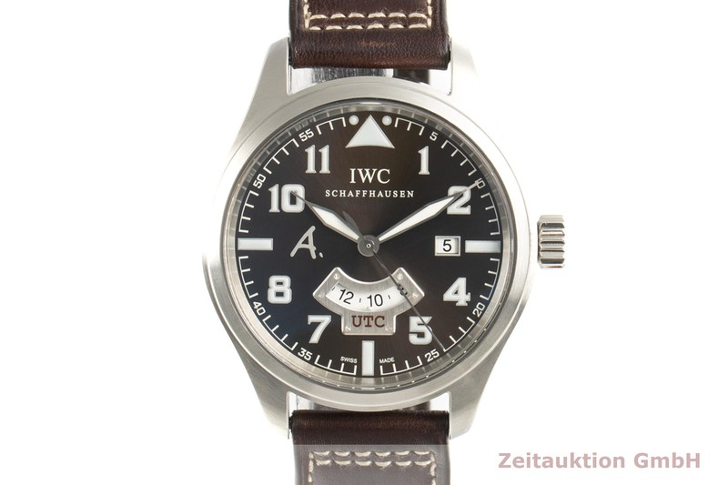 gebrauchte Luxusuhr IWC Fliegeruhr Stahl Automatik Kal. C.30710 Ref. 3261 LIMITED EDITION   2101435 _0