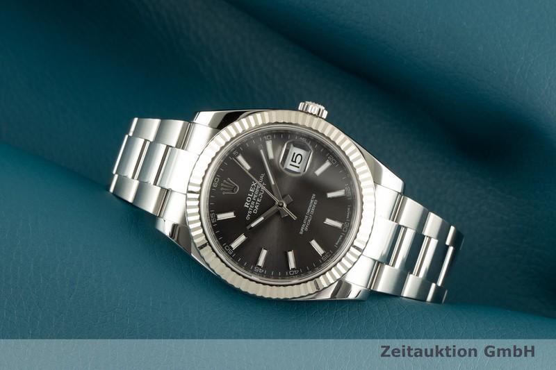 gebrauchte Luxusuhr Rolex Datejust Stahl / Weissgold Automatik Kal. 3235 Ref. 126334  | 2101475 _0