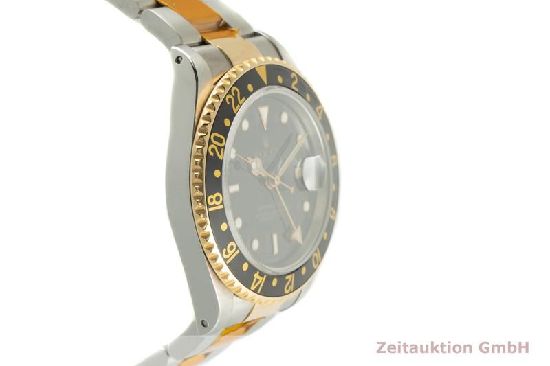 gebrauchte Luxusuhr Rolex GMT Master II Stahl / Gold Automatik Kal. 3185 Ref. 16713    2101480 _0