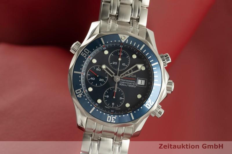 gebrauchte Luxusuhr Omega Seamaster Chronograph Stahl Automatik Kal. 1164 Ref. 2225.80.00, 178.0522  | 2101499 _0