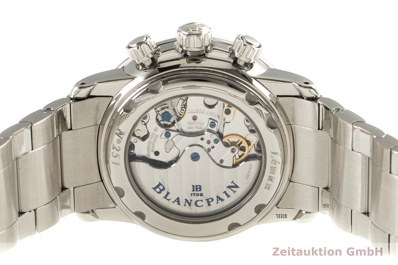 gebrauchte Luxusuhr Blancpain Leman Chronograph Stahl Automatik Kal. 69F8 Ref. 2885F  | 2101500 _1