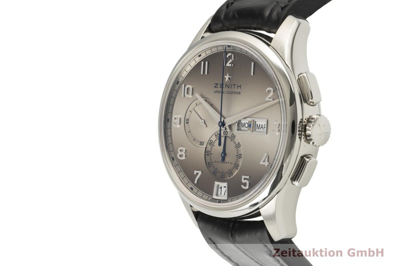 gebrauchte Luxusuhr Zenith El Primero Chronograph Stahl Automatik Kal. 4054 Ref. 03.2072.4054  | 2101502 _0