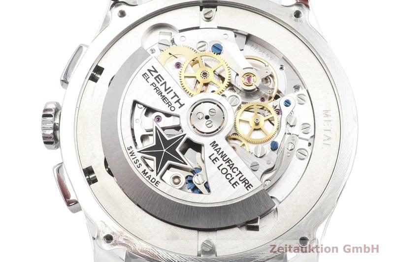 gebrauchte Luxusuhr Zenith El Primero Chronograph Stahl Automatik Kal. 4054 Ref. 03.2072.4054  | 2101502 _1