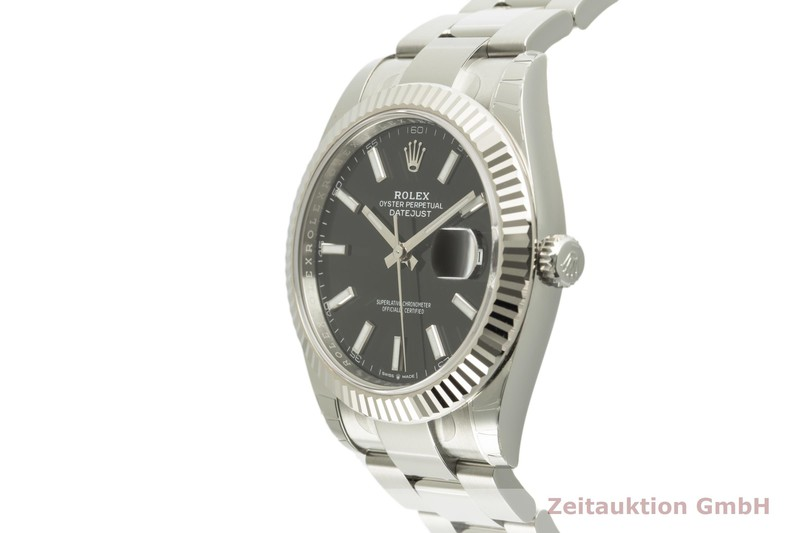 gebrauchte Luxusuhr Rolex Datejust Stahl / Weissgold Automatik Ref. 126334  | 2101520 _0