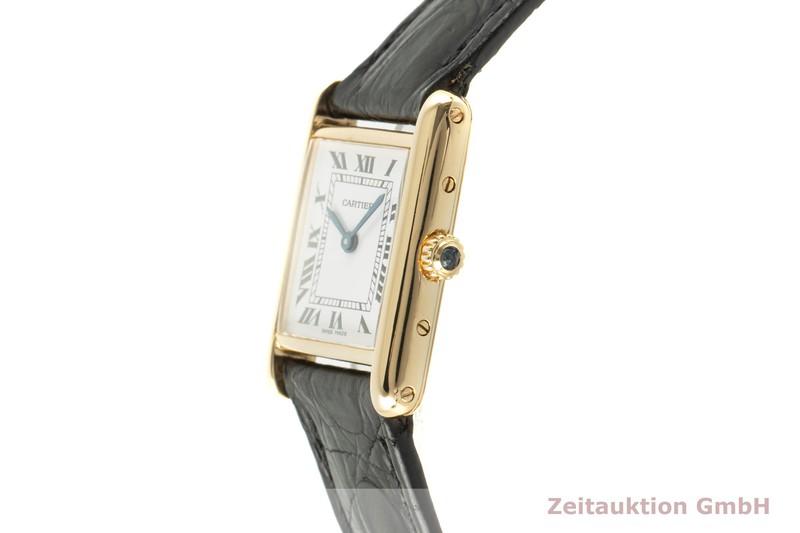 gebrauchte Luxusuhr Cartier Tank 18k Gold Quarz Kal. 157 Ref. 5070, 8660  | 2101553 _0