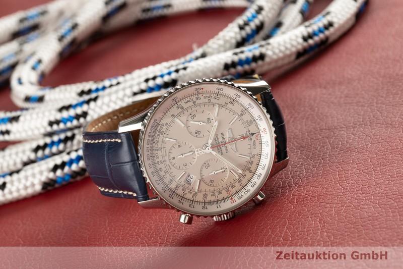 gebrauchte Luxusuhr Breitling Navitimer Chronograph Stahl Automatik Kal. B01 Ref. AB0123 LIMITED EDITION | 2101554 _0