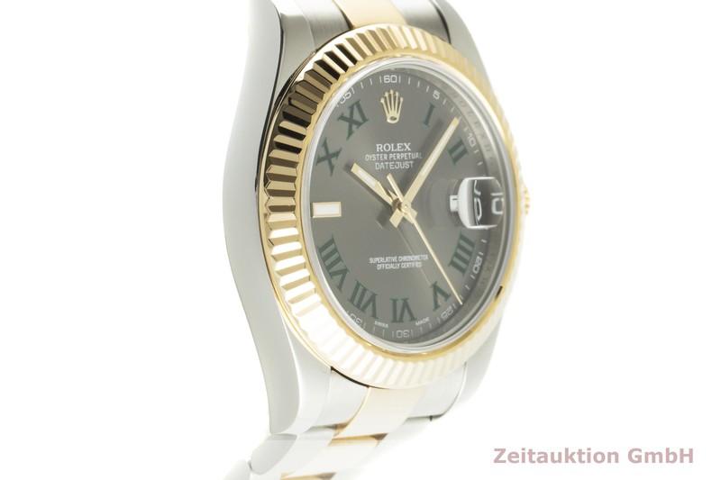 gebrauchte Luxusuhr Rolex Datejust Stahl / Gold Automatik Kal. 3136 Ref. 116333  | 2101565 _0