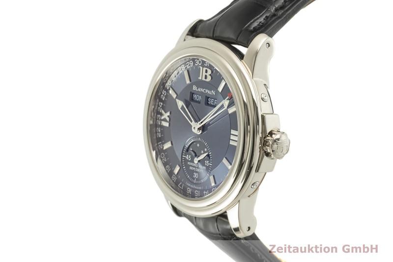 gebrauchte Luxusuhr Blancpain Leman 18k Weissgold Automatik Kal. 6763 Ref. 2763-1540-53  | 2101572 _0