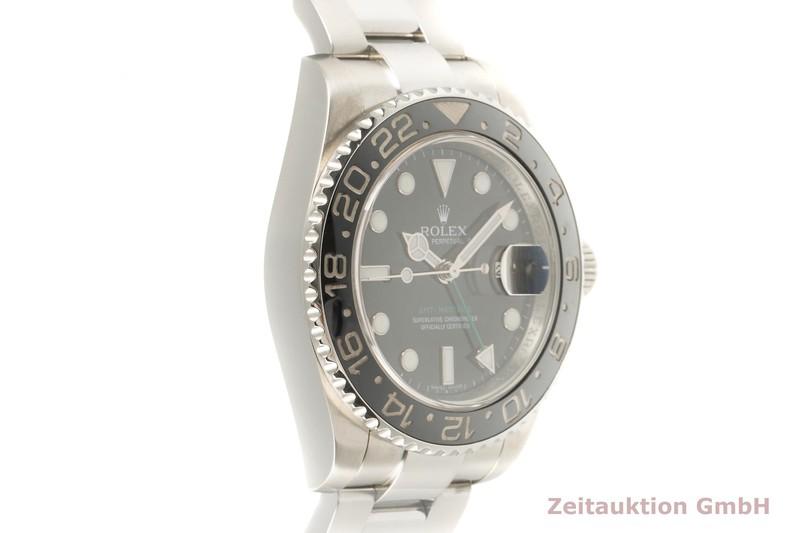 gebrauchte Luxusuhr Rolex GMT Master II Stahl Automatik Kal. 3186 Ref. 116710LN    2101598 _0