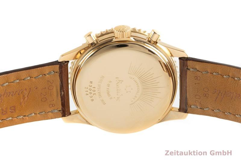 gebrauchte Luxusuhr Breitling Navitimer Chronograph 18k Gold Automatik Kal. B30 Ref. H30030    2101600 _1