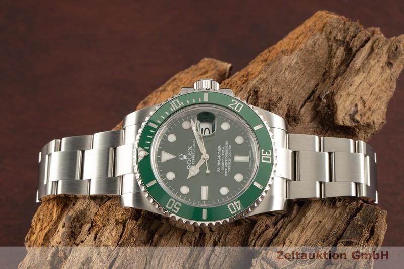 gebrauchte Luxusuhr Rolex Submariner Stahl Automatik Kal. 3135 Ref. 116610LV  | 2101604 _0