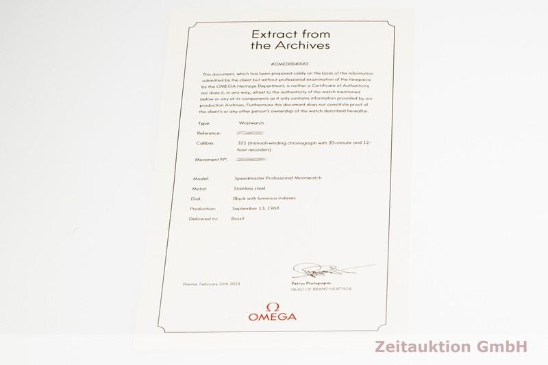 gebrauchte Luxusuhr Omega Speedmaster Chronograph Stahl Handaufzug Kal. 321 Ref. 145.012-67    2101624 _1