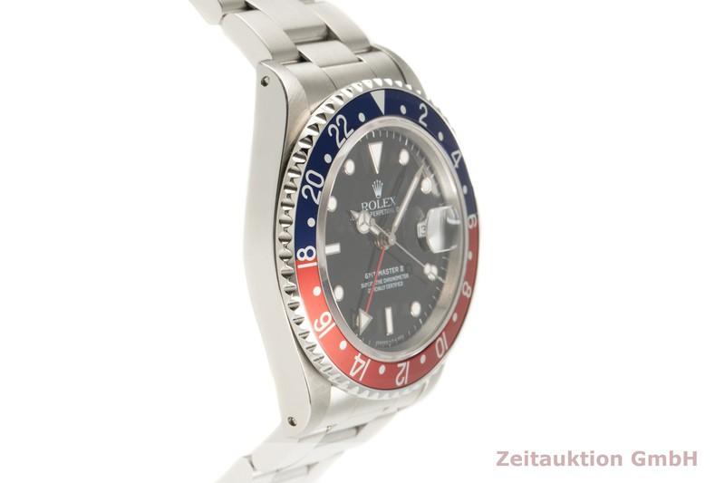 gebrauchte Luxusuhr Rolex GMT Master II Stahl Automatik Kal. 3185 Ref. 16710  | 2101630 _0