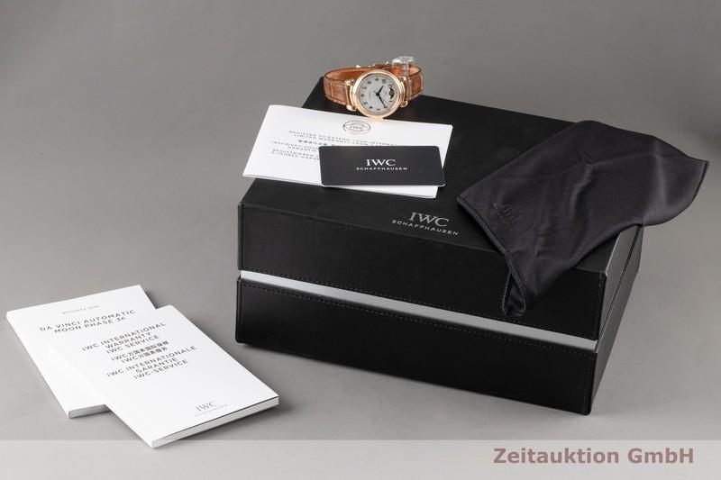 gebrauchte Luxusuhr IWC Da Vinci 18k Gold Automatik Kal. 35800 Ref. IW459308  | 2101638 _0