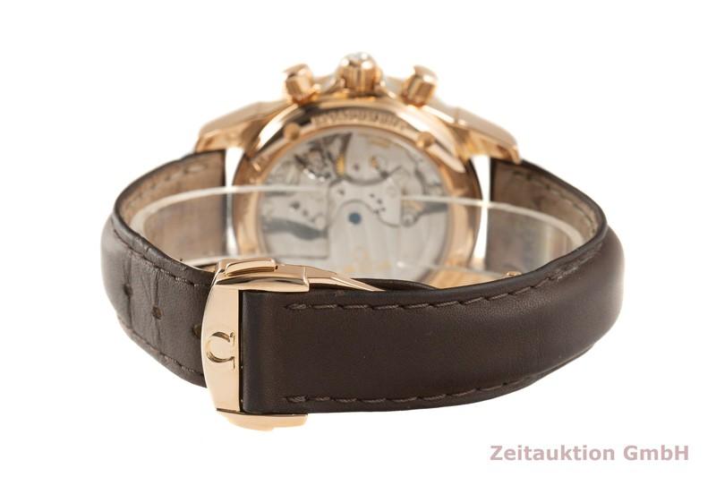 gebrauchte Luxusuhr Omega De Ville Chronograph 18k Gold Automatik Kal. 3313 Ref. 4677.60.37, 278.1711    2101642 _1