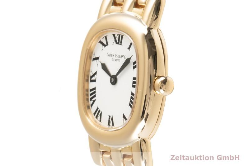 gebrauchte Luxusuhr Patek Philippe Golden Ellipse 18k Gold Quarz Kal. E15 Ref. 4830/1  | 2101643 _0