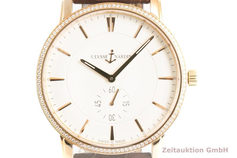 gebrauchte Luxusuhr Ulysse Nardin Classico 18k Gold Handaufzug Kal. UN 820-0456 Ref. 8206-188/31 LIMITED EDITION | 2101644 _0