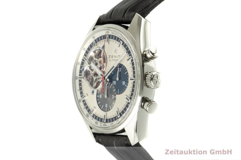 gebrauchte Luxusuhr Zenith El Primero Chronograph Stahl Automatik Kal. 4061 Ref. 03.2040.4061    2101645 _0