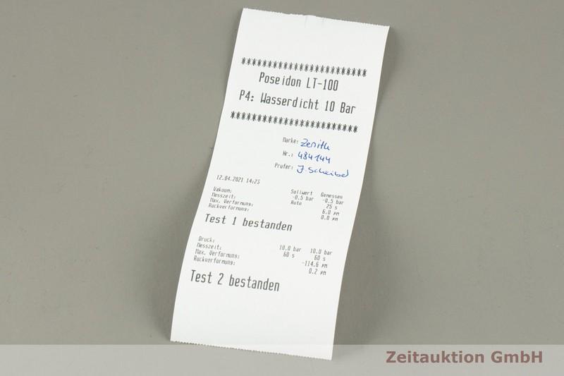 gebrauchte Luxusuhr Zenith El Primero Chronograph Stahl Automatik Kal. 4061 Ref. 03.2040.4061    2101645 _1