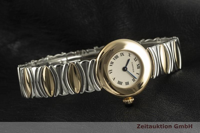 gebrauchte Luxusuhr Cartier Colisee 18k Gold Quarz Kal. 157 Ref. 3292    2101650 _0