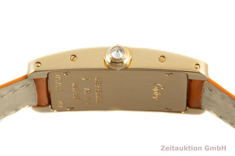 gebrauchte Luxusuhr Cartier Tank Américaine 18k Gold Quarz Kal. 157 Ref. 2482    2101658 _1