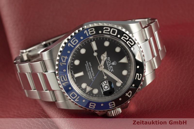 gebrauchte Luxusuhr Rolex GMT Master II Stahl Automatik Kal. 3186 Ref. 116710BLNR  | 2101661 _0
