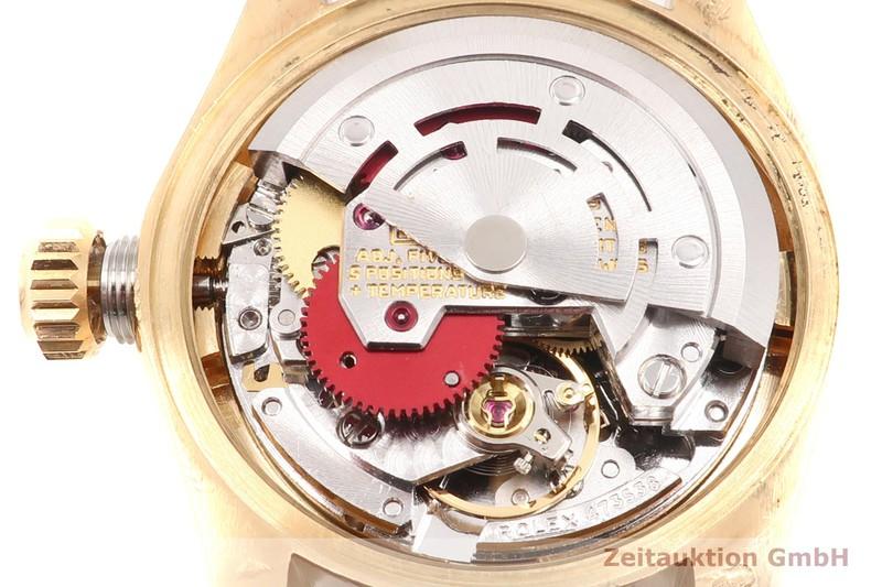 gebrauchte Luxusuhr Rolex Lady Datejust 18k Gold Automatik Kal. 2030 Ref. 6901  | 2101686 _1