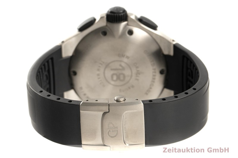 gebrauchte Luxusuhr Girard Perregaux BMW Oracle Racing Chronograph Titan Automatik Kal. 33CO.AK Ref. 80175-28-651 LIMITED EDITION   2101700 _1