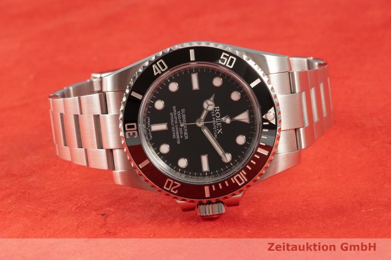 gebrauchte Luxusuhr Rolex Submariner Keramik / Stahl Automatik Kal. 3130 Ref. 114060  | 2101715 _0