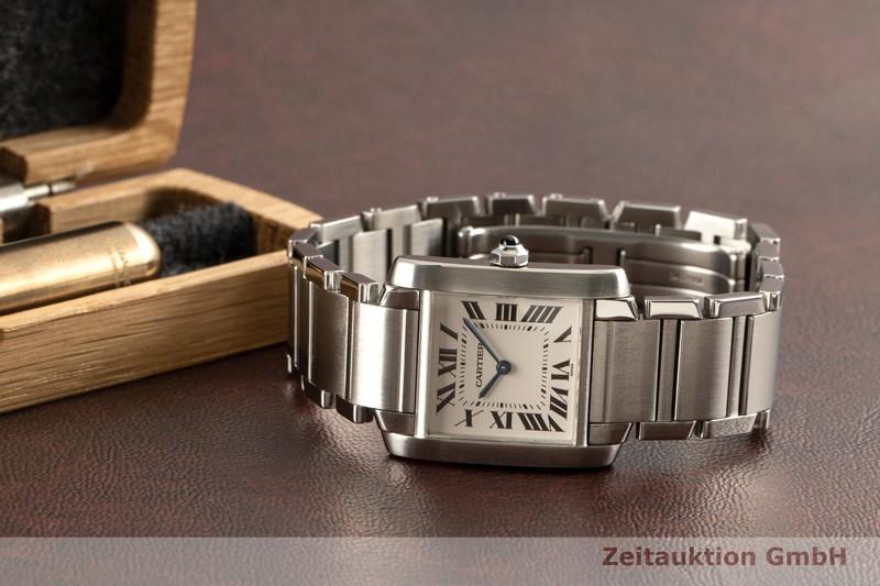 gebrauchte Luxusuhr Cartier Tank Francaise Stahl Quarz Kal. 157 Ref. 2301  | 2101727 _0