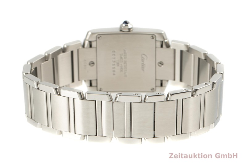 gebrauchte Luxusuhr Cartier Tank Francaise Stahl Quarz Kal. 157 Ref. 2301  | 2101727 _1