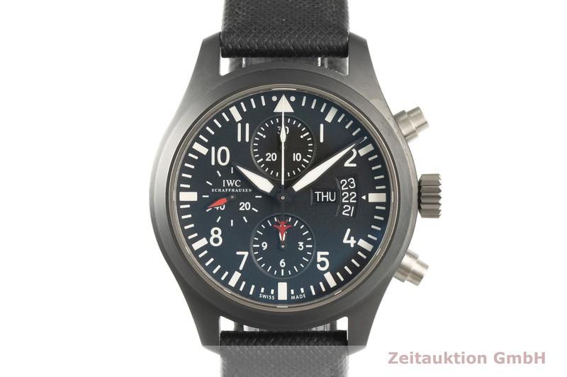 gebrauchte Luxusuhr IWC Pilot Chronograph Stahl Automatik Kal. C.79320 Ref. IW378901  | 2101754 _0