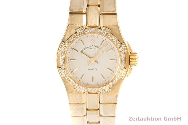gebrauchte Luxusuhr Vacheron & Constantin Overseas 18k Gold Quarz Kal. 1016 Ref. 12050-16050/1  | 2101758 _0