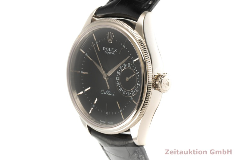 gebrauchte Luxusuhr Rolex Cellini 18k Weissgold Automatik Kal. 3165 Ref. 50519    2101760 _0