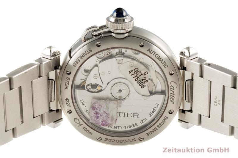 gebrauchte Luxusuhr Cartier Pasha Stahl Automatik Kal. 1847 MC Ref. 4327,WSPA0013  | 2101763 _1
