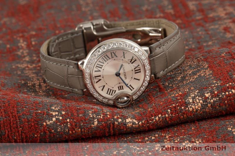 gebrauchte Luxusuhr Cartier Ballon Bleu de Cartier 18k Weissgold Quarz Kal. 057 Ref. 3008  | 2101774 _0