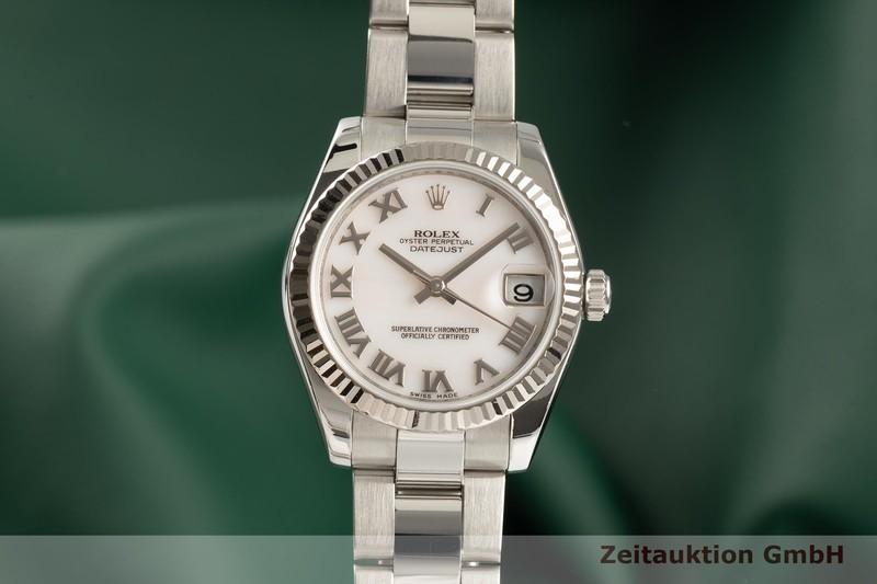 gebrauchte Luxusuhr Rolex Lady Datejust Stahl / Weissgold Automatik Kal. 2235 Ref. 178274  | 2101777 _0