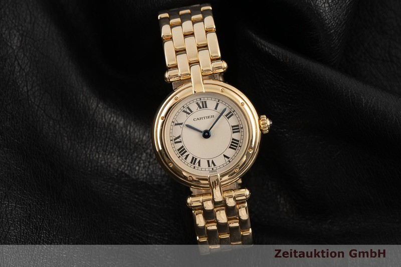 gebrauchte Luxusuhr Cartier Panthere 18k Gold Quarz Kal. 66 Ref. 866920  | 2101781 _0