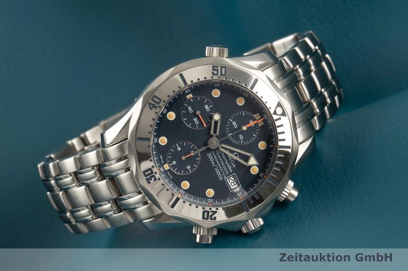 gebrauchte Luxusuhr Omega Seamaster Chronograph Stahl Automatik Kal. 1154 Ref. 2598.80.00, 178.0504, 378.0504, 175.0504, 375.0504  | 2101783 _0