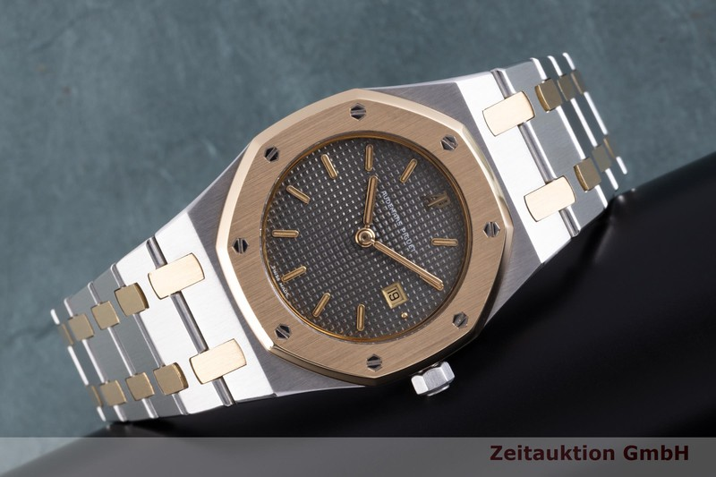 gebrauchte Luxusuhr Audemars Piguet Royal Oak Stahl / Gold Quarz Kal. 2711  | 2101800 _0