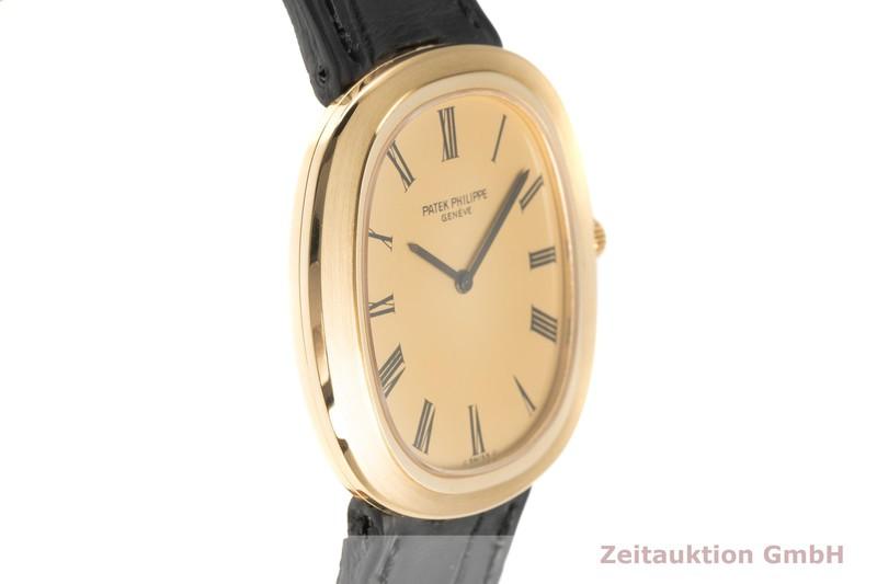 gebrauchte Luxusuhr Patek Philippe Ellipse 18k Gold Handaufzug Kal. 28-255 Ref. 3589  | 2101828 _0