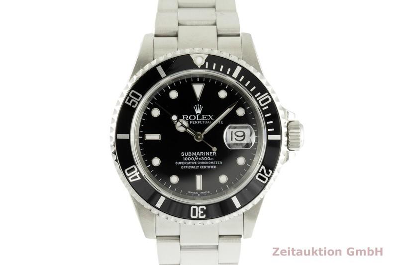 gebrauchte Luxusuhr Rolex Submariner Stahl Automatik Kal. 3135 Ref. 16610  | 2101836 _0